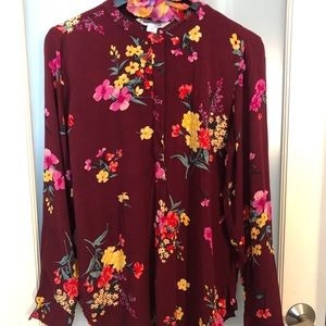 Old Navy Floral Print Tunic Top